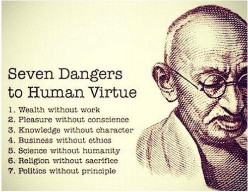 Awesome by Mahatma Gandhi