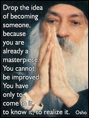Gem of a quote from Osho