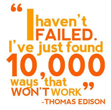 Great quote by Thomas Edison