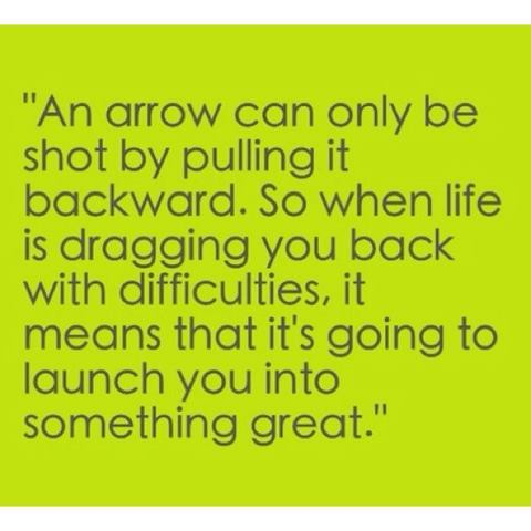 Arrow and life