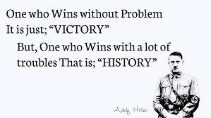 Victory vs History